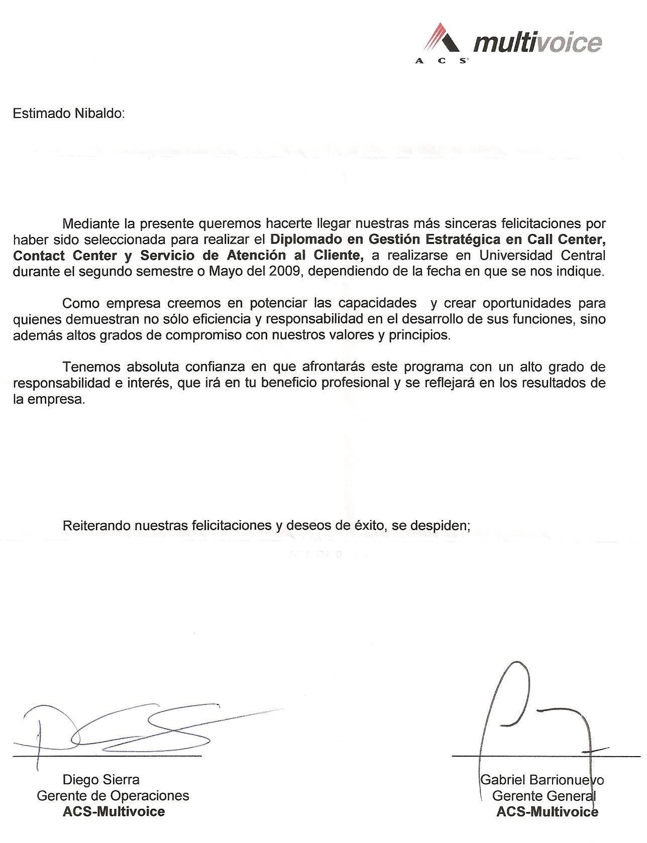 Nibaldo Valdes Veloso - Carta De Cobranza Modelo   resumeguide101 ...